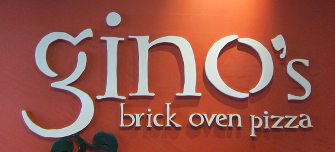 Serious Slices Over at Gino's Brick Oven Pizza