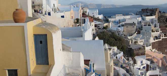 Trippin' in Greece Part 1: Eating in Santorini